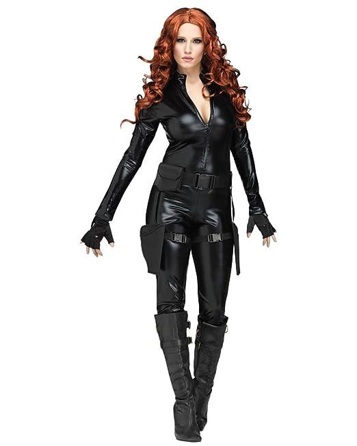 Fun World Midnight Ops Disfraz de Viuda Negra para Halloween ...