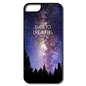 Design Best Hard Plastic Dare Dream Big Iphone 5s Cases