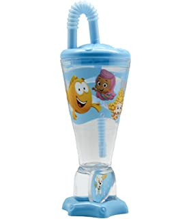 Party Supplies Viva Party SG/_B073WPPDT8/_US Bubble Guppies Balloon Bouquet 2nd Birthday 5 pcs