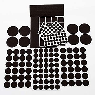 Yelanon Furniture Pads, Felt Pads Furniture Feet 189 Piece Premium Pack– Non Slip Furniture Felt Pad,Best Wood Floor Protectors. Non Skid Furniture Grippers Protect Your Hardwood & Laminate Flooring