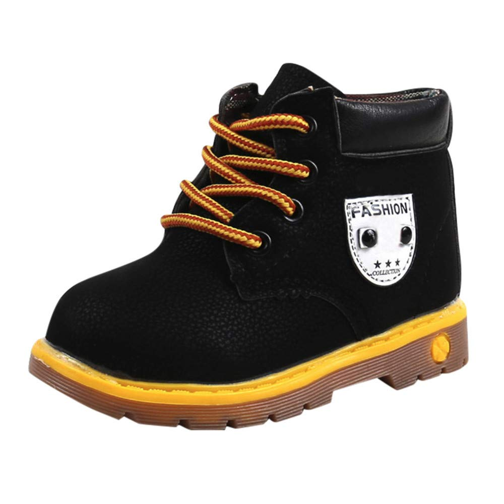 SMALLE ◕‿◕ Clearance,Baby Children Warm Boys Girls Martin Sneaker Boots Kids Baby Casual Shoes