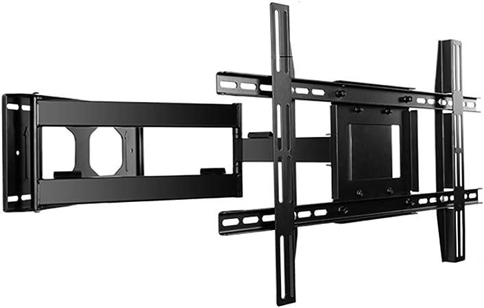 KEWEI (32-55in) TV Rack Telescópico Plegable Montaje En Pared Universal Rotación De 90 Grados: Amazon.es: Hogar