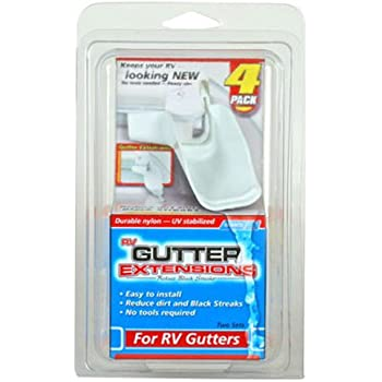 Amazon Com Camco 42123 Gutter Extensions Pack Of 4