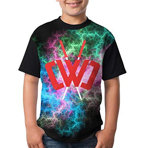 5362cbb07ad0 Nature Porter Chad Wild Clay Boys and Girls Print T-Shirts, Youth Fashion  Tops M