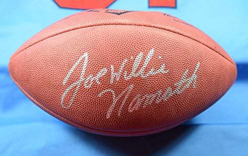 (JOE WILLIE NAMATH PSA DNA Coa Autograph Official NFL Football Hand)