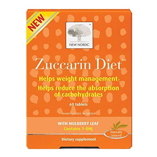- New Nordic Zuccarin Diet with Mulberry Leaves Dietary Supplement (60 Tablets) (2 Pack)