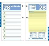 AT-A-GLANCE E51750 QuickNotes Desk Calendar Refill, 3 1/2 x 6, 2016