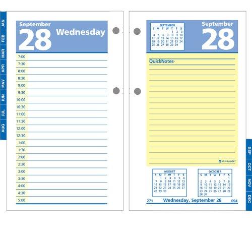 GLANCE E51750 QuickNotes Calendar Refill product image