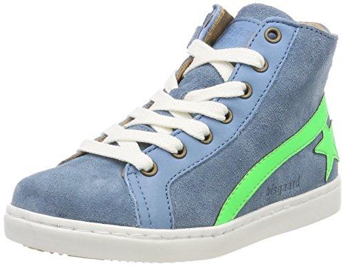 Schnürschuhe Hohe Blue Blau Sky Unisex Kinder Sneaker Bisgaard Efx7qnW