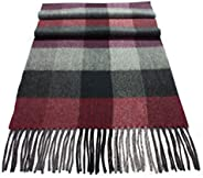 Urban Edge 100% Cashmere Wool knit scarf, men & women. Luxurious softness, large size.Gift
