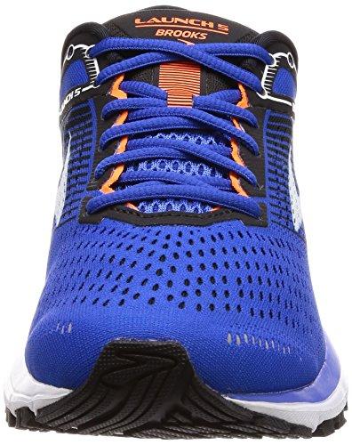 Brooks Mens Launch 5 Blau / Schwarz / Orange