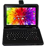 "ACEPAD A121 (10.1"") 3G Tablet PC, 2GB RAM, 64GB Speicher, Dual-SIM, Android 7.0, IPS HD 1280x800, Quad Core CPU, WIFI/WLAN/Bluetooth, USB/SD (Alu-Schwarz mit Tastaturtasche)"