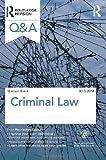 Q&a Criminal Law 2013-2014, Baird, Norman, 0415538874