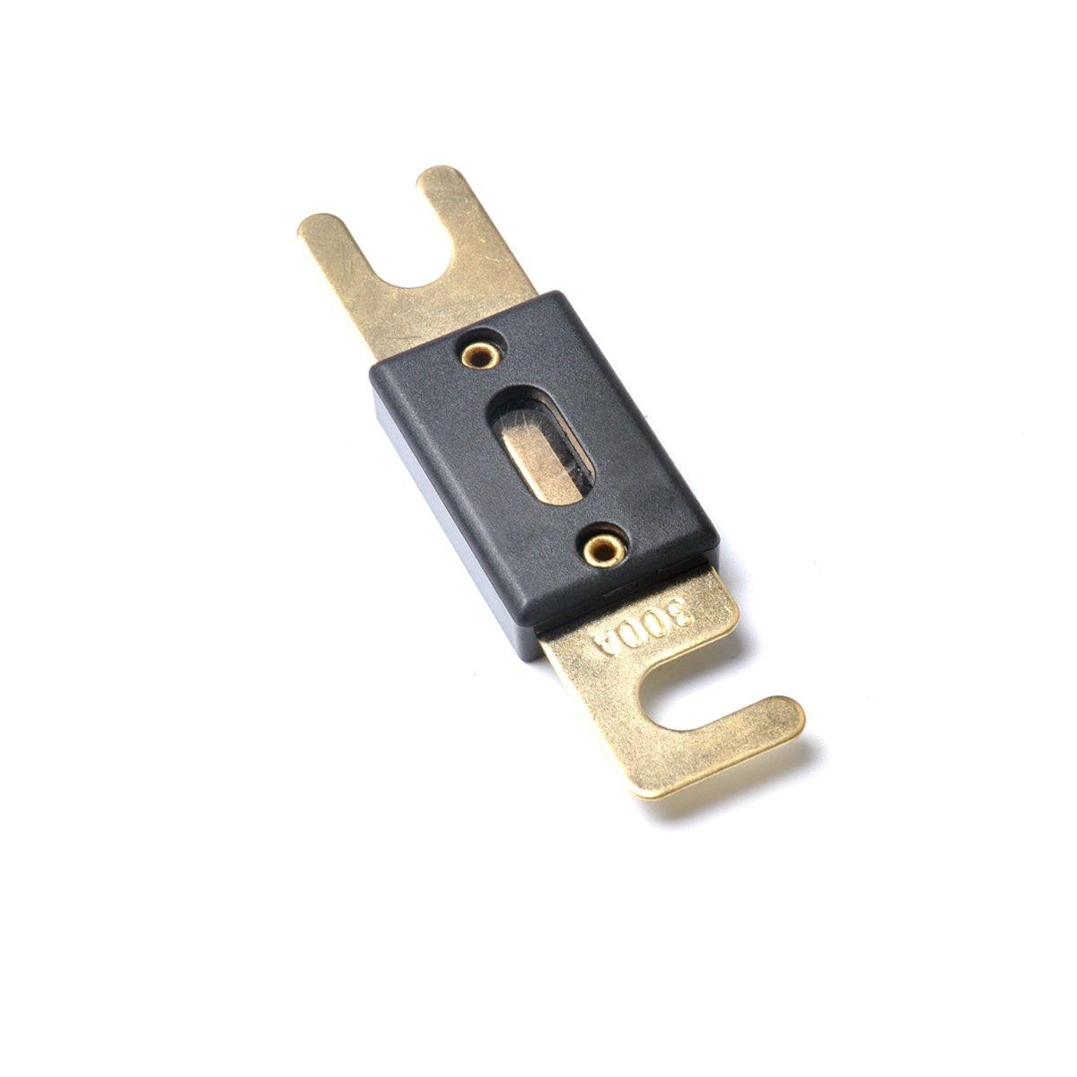 VORCOOL 5pcs de alta calidad ANL fusibles 300 Amp Gold plateado para camió n Camper Rv remolque 10X25BY26XN80AZ