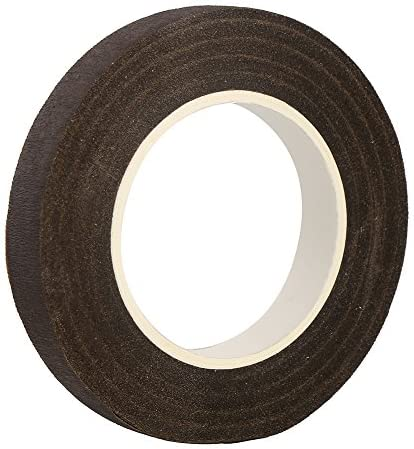1//2 Inch Wide x 30 Yards 12 Pack Ideal for Bouquet Stem Wrap Floral Arranging and Craft Projects Topenca Supplies Floral Tape Brown