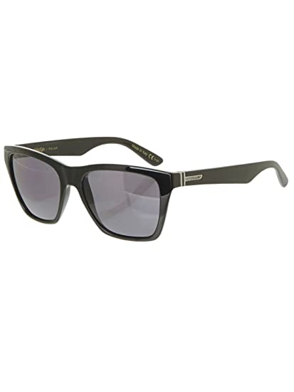 0bfe9ee728d Von Zipper Booker Sunglasses in Black Gloss Wildlife Vintage Grey Polarised  Lens