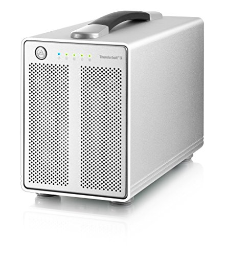 Akitio Thunder3 Quad (Enclosure Only) - WINDOWS ONLY : Currently not supported by Mac by Akitio