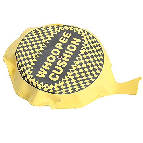 Shiningup Self Auto Inflate Whoopee Cushion Pranks Maker Trick Funny Toy Fart Pad Fashion Whoopee Cushion Jokes Blague Toys