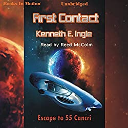 First Contact: Escape to 55 Cancri