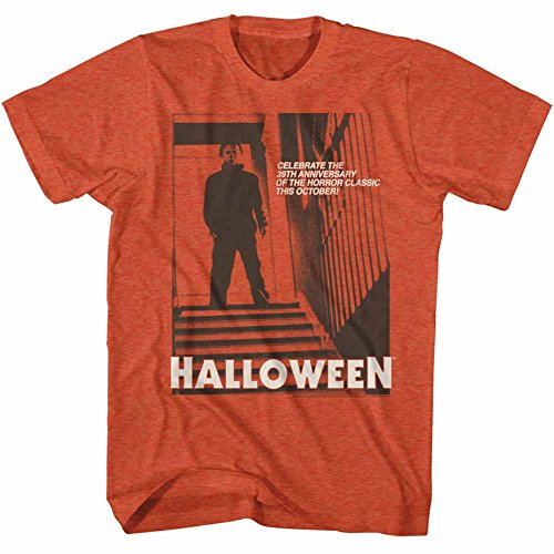 American Classics Halloween Scary Horror Slasher Movie Stairs 2 Antique Adult T-Shirt Tee -