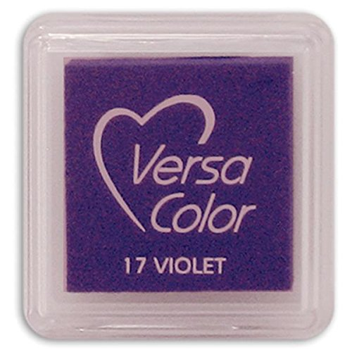 Tsukineko Small-Size VersaColor Ultimate Pigment Inkpad, Violet