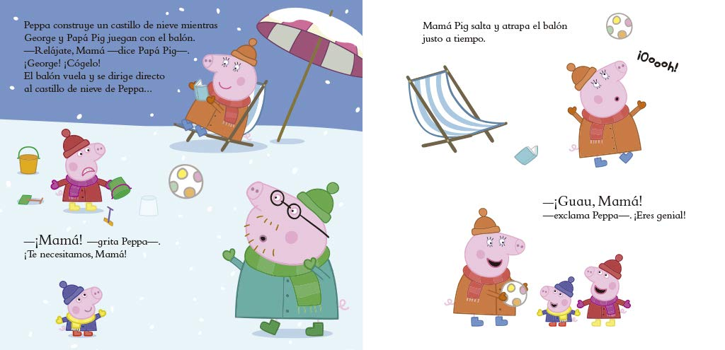 Te quiero, Mamá Pig! (Peppa Pig. Primeras lecturas): Amazon.es ...