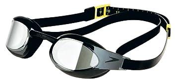 0214b80f1ff Speedo(スピード) 水泳用ゴーグル エリートゴーグルミラー SD92G53 ブラック
