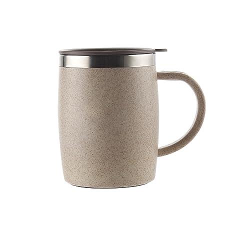 Isenretail Taza de escritorio, Taza térmica del café, Pared ...