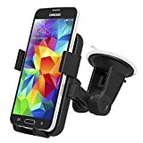 iOttie Easy One Touch XL Car Mount Holder for Samsung Galaxy S8, S8 Plus, iPhone 7, 7 +, Most Smartphones