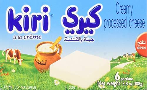 Kiri Cheese Wedges, 6 portions (108g) -