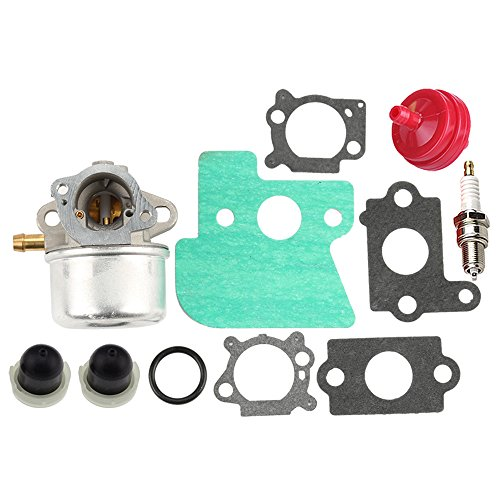 Hot Hilom Carburetor with gaskets Fuel Filter Spark Plug replaces Briggs & Stratton 790120 693909 694202 692648 499617 499974 121602 120682 for Toro MTD John Deere Lawn Mower hot sale