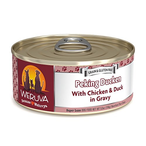 Weruva Classic Dog Food, Peking Ducken with Chicken & Duck i