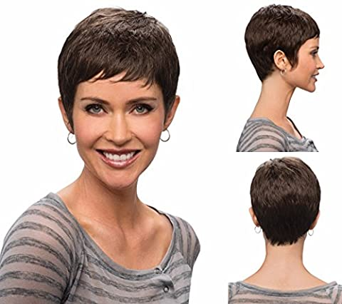 Premium wigs liap Wigs wig female European fashion wigs short straight hair natural hair (San Diego Mission Model)