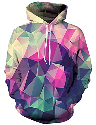 Linnhoy 3D Space Hoodie Awesome Casual Sports Hoodies Sweatshirts for Teen Boys,...