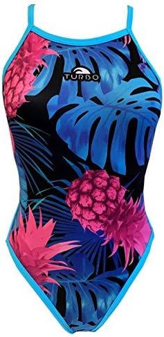 Turbo Pineapple Night Revolution Maillot de Bain de Sport