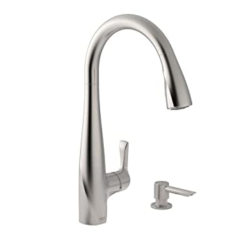 American Standard Lillian Pull Down Kitchen Faucet - - Amazon.Com