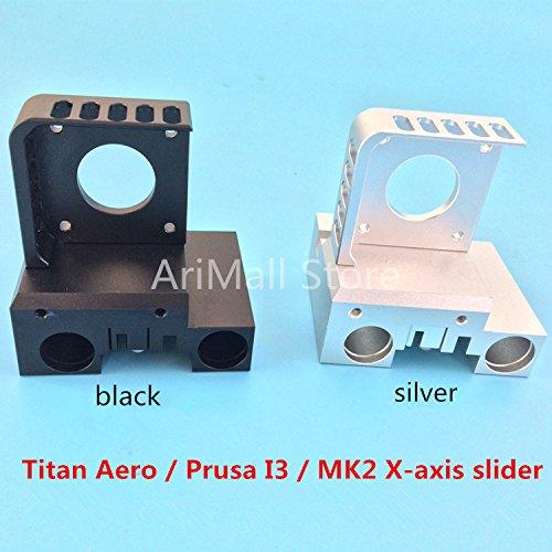 WillBest 3D Printer X-axis Slider Gantry Titan Aero Prusa I3 MK2 Printer extruder Full Metal CNC Technology by WillBest