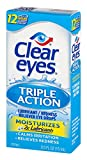 Clear Eyes Eye Drops, Triple Action