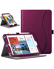 Fintie Case for iPad Mini 5 2019 / iPad Mini 4, 360 Degree Rotating Smart Stand Cover w/Pocket, Pencil Holder, Auto Sleep/Wake for New iPad Mini 5 / Mini 4, Purple