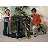 Life Stages Fold & Carry Double-Door Dog Crate Size: X-Large – 48″ L x 30″ W x 33″ H