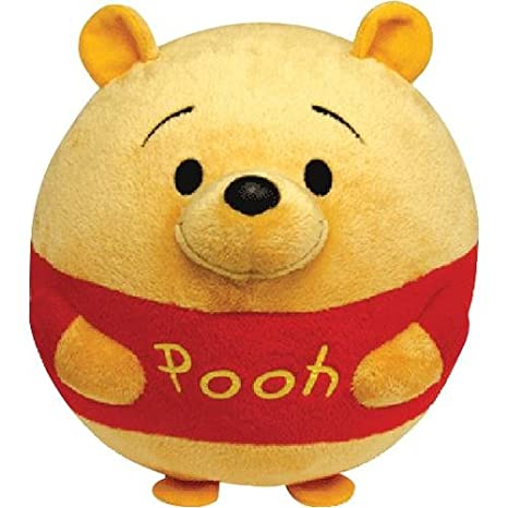 94da4e6511e Image Unavailable. Image not available for. Color  Ty Beanie Ballz Winnie  The Pooh Plush