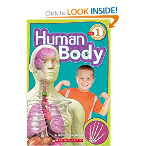 Human Body (Scholastic Science Reader, Level 1) Kathleen Weidner Zoehfeld