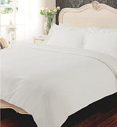 Extra Deep Flat Sheet 400 Thread Count 100% Egyptian Cotton Bedding Bed Set  White By