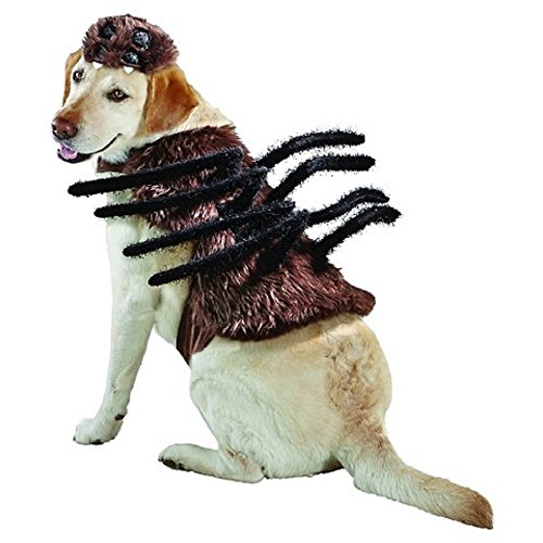 [Spider Dog Pet Halloween Costume Large by Target] (Large Dog Spider Halloween Costume)