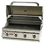 Bull Outdoor Products 87049 Lonestar Select Natural Gas Drop-In Grill Head