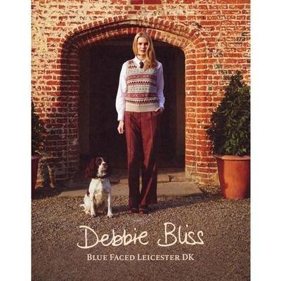 Debbie Bliss Blue Faced Leicester DK Knitting Pattern Book FW13 (Debbie Bliss Blue Faced Leicester Dk Yarn)