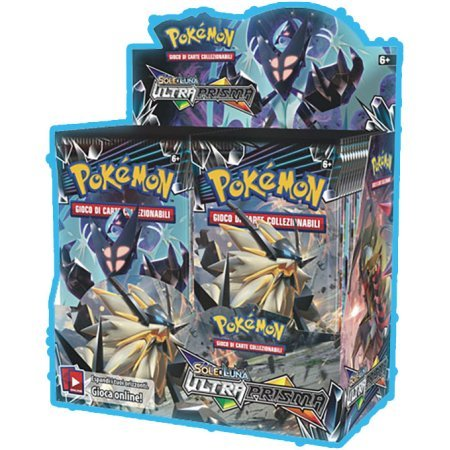 Pokemon TCG: Ultra Prism Sun & Moon Booster Box +BOTH Elite Trainer