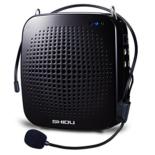 SHIDU S511 Ultralight Portable Voice Amplifier With a Comfortable Wired Microphone for Teachers Tour Guides shopping - Mall Crystal Address