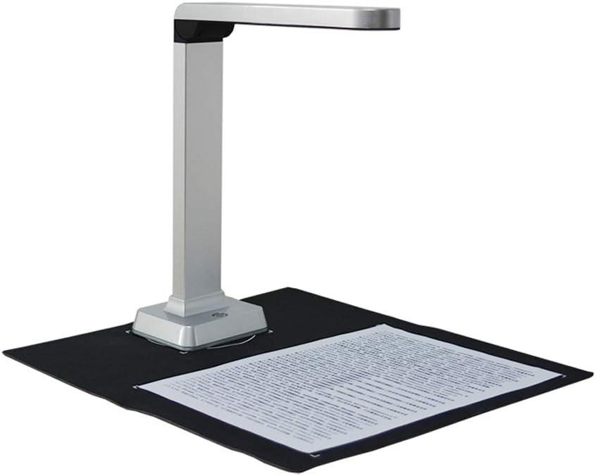 H HILABEE Esc/áner HD Libro De Documentos LED con OCR para Windows H500