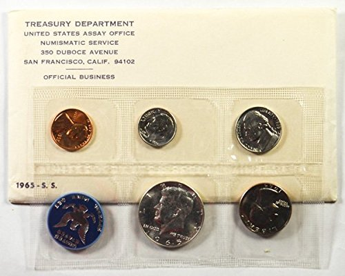 - 1965 Special Mint Set 5 Coin Uncirculated